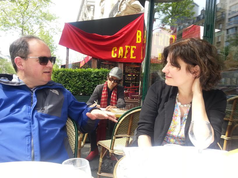 Con Alexandra Roussopoulos